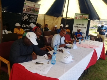 Mokhotlong farmers are excited to be part of RSDA.